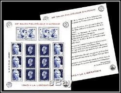 Bloc Feuillet n°4986 69ème Salon philatélique d'Automne 2015 1945 La Libératio
