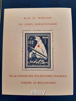 Bloc-feuillet de l'Ours France 1941