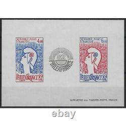Bloc-feuillet de timbres de France N°8a Philexfrance 82 non dentelé neuf SUP