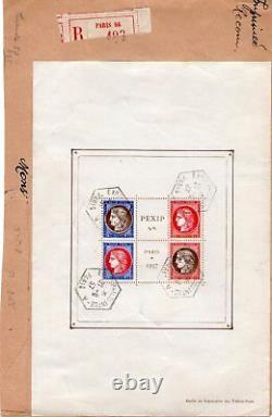 Bloc n° 3c sur lettre