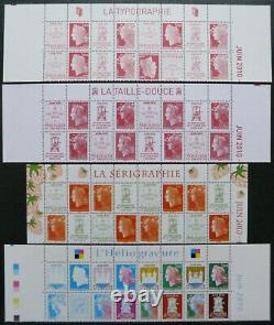 Boulazac les 4 Hauts de feuilles neuves n°4459/4472 40 ans Boulazac année 2010