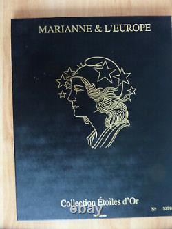 Coffret Blocs Marianne Collection Étoiles D' Or Salon Parc Floral 2012