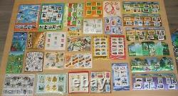 Collection de Bloc-feuillets n°7 à 136 N (1975 à 2015 complet)