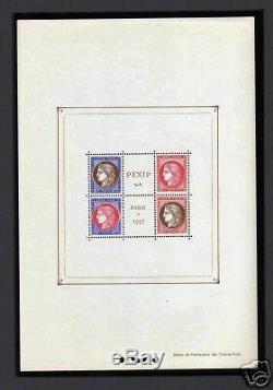FRANCE 1937 BLOC Y&T 3 PEXIP, NEUFxx TTB, VALEUR800