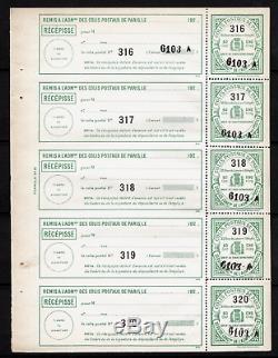 FRANCE COLIS POSTAUX de PARIS pour PARIS Année 1920 Feuillet du n°69 NEUF