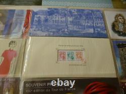 FRANCE NEUFS BLOCS SOUVENIRS PHILATELIQUE ANNEE COMPLET 2013 sous BLISTER