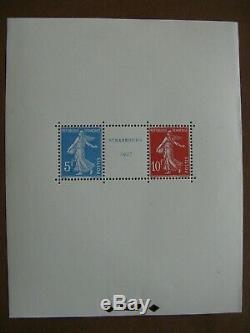 FRANCE neufs bloc-feuillet n° 2 STRASBOURG 1927