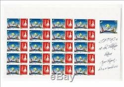 Feuille complète 20 timbres PERSONNALISES n° 1206 NOUVELLE CALEDONIE OPT