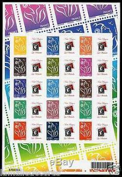 Feuillet Lamouche N° F 3925p Adhesif Logo Passion
