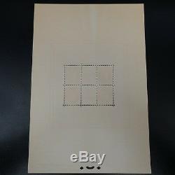 Feuillet Sheet Exposition Pexip Cérès Bloc N°3 Neuf Mnh (deux Points)