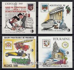 France Blocs-Feuillets CNEP 1986/1999 collection complète, Yvert n°7/30