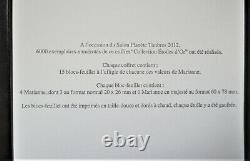 France Coffret Blocs Marianne Etoiles D' Or Salon Parc Floral 2012 Ttb