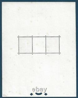France bloc Strasbourg 1927 n°2 () ss gomme traces rouille légère signé Calves