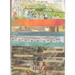 LOT DE 28 BLOCS SOUVENIRS ANNEE 2004 à 2010 NEUFS COTE 297 Euros L'ART DE