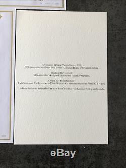 Les 15 Blocs Collection Étoile Dor Marianne Et LEurope 6000 Ex. Salon 2012