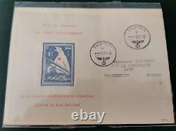 Lettre LVF Bloc de l'ours n°1 oblitéré Feldpost 1942