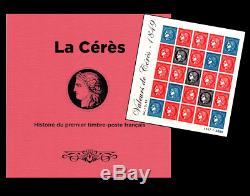 Livre La Cérès avec bloc feuillet Valeurs de Cérès France Salon Automne 2019