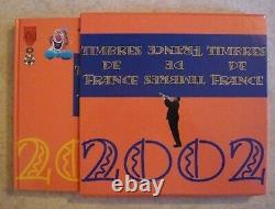 Livre des Timbres France 2002