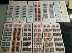 Lot blocs et feuillets FACIALE 148 pour 110 LIVRAISON GRATUITE