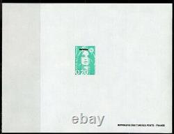 MARIANNE de Briat Mayotte 1997 les 10 Blocs feuillets gommés non dentelés 32-41