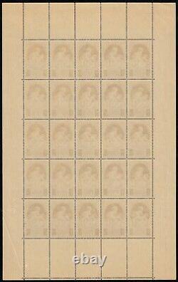 N°440/441 en feuilles de 25, Natalité 1939, neuf sans charnière TB