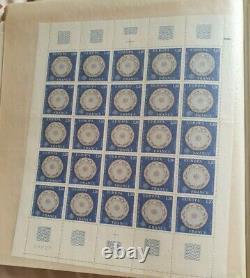Planches entières Timbre Lot de 50 planches plusieurs centaines de timbres