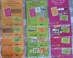 Pochette Collection de timbres la Poste sous blister Année 2008 complète