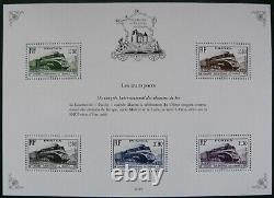 Pochette Patrimoine de France avec feuillet BS10A Cérès 1 franc vermillon 2019