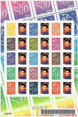 Rare Feuillet Timbres France Marianne De Lamouche 2005. Autoadhésifs N°F3925p