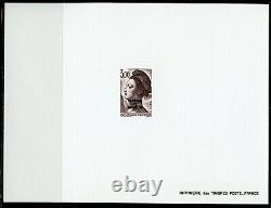 Saint-Pierre et Miquelon Marianne Gandon 1986 15 x Epreuves luxe 456-469