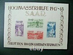 Sarre Stamps French Colonies Bloc feuillet N° 1 neuf C 800 à voir