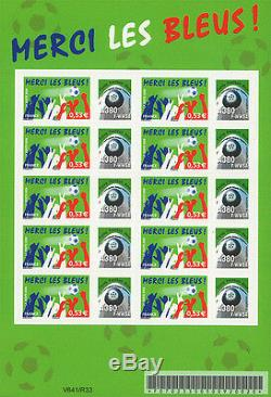 Sheetlet 10 Perso stamps Airbus A380 F-WWSA Flying Football Nose 2006