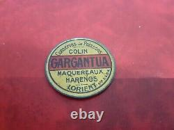 Timbre monnaie conserves de poissons Gargantua