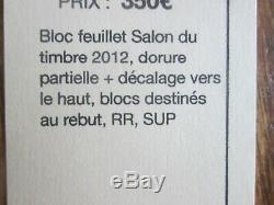 Timbres France Bloc Yt 132 Neuf Dorure Partielle Rare