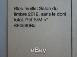 Timbres France Bloc Yt 132 Variete Sans Le Dore