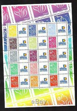 Timbres Personnalises Marianne Bloc-feuillet Lamouche 2007 Discount