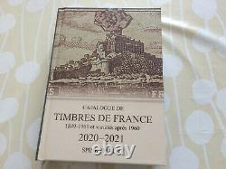 Tres Rare Variete Bloc France 124 Yt Maury 1500 Dentelure Partielle Luxe