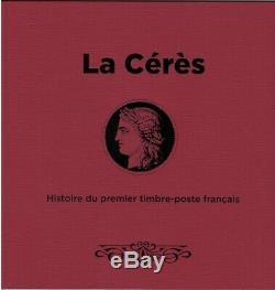 Variété Bloc Cérès Histoire du 1er timbre francais, neuf Luxe