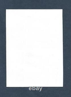 Variete Sur Bloc-feuillet Numero Yvert F 4614 Non Dentele Et Impression A Sec